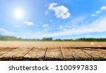 empty table background   Shutterstock . vector #1100997833