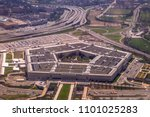 the pentagon from above in...
