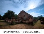wat mahaeyong old temple in... | Shutterstock . vector #1101025853