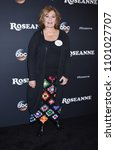 """Small photo of BURBANK - MAR 23: Roseanne Barr arrives to the """"Roseanne"""" Series Premiere Event on March 23, 2018 in Burbank, CA"""