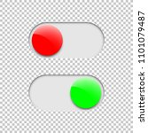 green on and red off toggle...