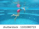 legs of child girl view from... | Shutterstock . vector #1101080723