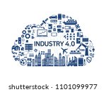 internet of things  industry 4... | Shutterstock .eps vector #1101099977