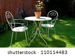 English Garden Table And Chairs