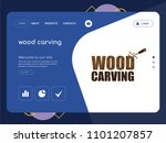 quality one page wood carving...
