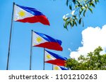philippines national flag... | Shutterstock . vector #1101210263