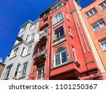 istanbul  turkey   may 23  2018 ... | Shutterstock . vector #1101250367
