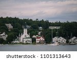 mackinac island beautiful... | Shutterstock . vector #1101313643