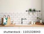 modern and design scandinavian... | Shutterstock . vector #1101328043