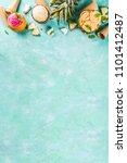summer holiday vacation concept ... | Shutterstock . vector #1101412487