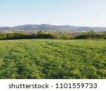 fabulous panorama of cityscape... | Shutterstock . vector #1101559733