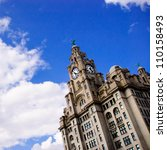 liverpool liver building   one...