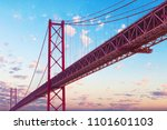 places of interest in lisbon ... | Shutterstock . vector #1101601103