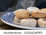 mantecados  polvorones y roscos ... | Shutterstock . vector #1101626093