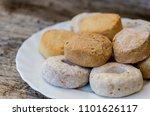 mantecados  polvorones and... | Shutterstock . vector #1101626117