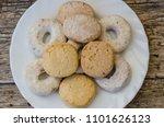 polvorones  mantecados and... | Shutterstock . vector #1101626123