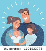 vector cartoon illustration of... | Shutterstock .eps vector #1101633773