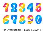 bright hippie psychedelic...   Shutterstock .eps vector #1101661247