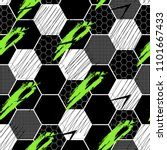 abstract seamless football... | Shutterstock .eps vector #1101667433