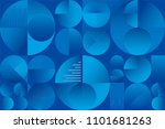 abstract colorful seamless... | Shutterstock .eps vector #1101681263