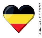 german flag design   Shutterstock .eps vector #1101699797