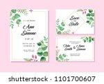 wedding invite  invitation ...   Shutterstock .eps vector #1101700607