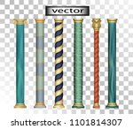 vector 3d  realistic stone... | Shutterstock .eps vector #1101814307