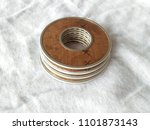 Small photo of Stack of 20 Micron Circular Screen Aircraft Fuel Filter