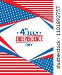 illustration vector of 4 july...   Shutterstock .eps vector #1101892757