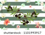 seamless vector pattern with... | Shutterstock .eps vector #1101993917