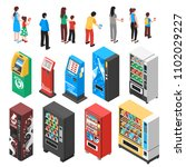 automaticvending machines... | Shutterstock .eps vector #1102029227