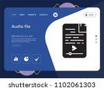 quality one page audio file...