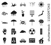 very bad weather icons set.... | Shutterstock . vector #1102097243