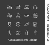 modern  simple vector icon set... | Shutterstock .eps vector #1102109903