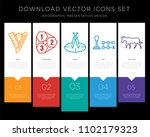 5 vector icons such as tailor...   Shutterstock .eps vector #1102179323