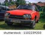 Small photo of Hetzlinshofen, Germany - May 27, 2018: 1979 Citroen GSA at the 6. Hetla-Klausa oldtimer car and tractor meeting.
