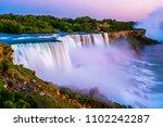 niagara falls in the summer...   Shutterstock . vector #1102242287