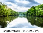 chattahoochee river and trees... | Shutterstock . vector #1102252193