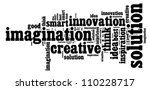 creative thinking traits vector