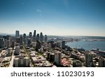 View Of Seattle From The Space...