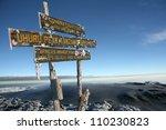 The Snowy Peak Of Mt...
