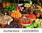 funchal  madeira  portugal  ... | Shutterstock . vector #1102338503