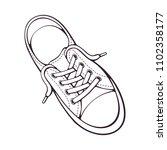 vector illustration. textile... | Shutterstock .eps vector #1102358177