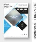 business flyer design. for art... | Shutterstock .eps vector #1102373243