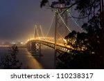 Bay Bridge At Night In San...