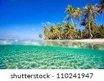 Beautiful Tropical Island At...
