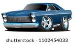 classic sixties style big... | Shutterstock .eps vector #1102454033