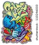 vector illustration abstract...   Shutterstock .eps vector #110246033