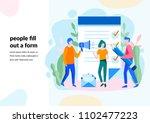 vector illustration  for web... | Shutterstock .eps vector #1102477223
