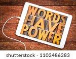 words have power message in... | Shutterstock . vector #1102486283